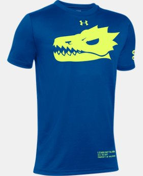 New Arrival Kids' UA Lizard Battalion T-Shirt LIMITED TIME: FREE SHIPPING 1 Color $19.99