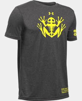 New Arrival Kids' UA Frog Battalion T-Shirt LIMITED TIME: FREE SHIPPING 1 Color $19.99