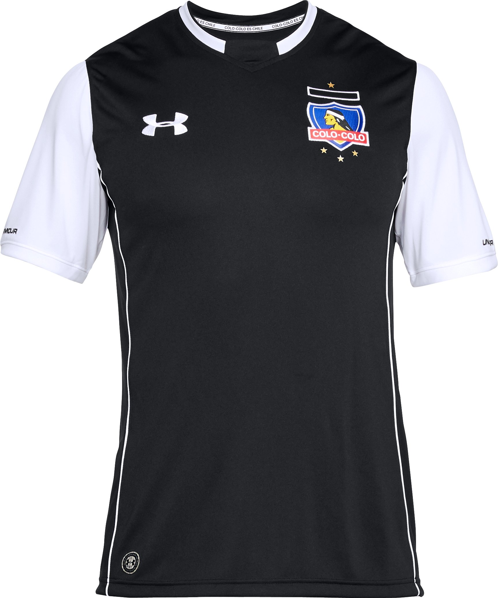 Men's Colo-Colo Replica Away Jersey, Black ,