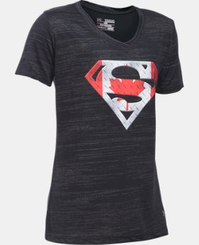 New Arrival  Girls' Superman Canada *Ships 8/31/2016* LIMITED TIME: FREE SHIPPING 1 Color $29.99