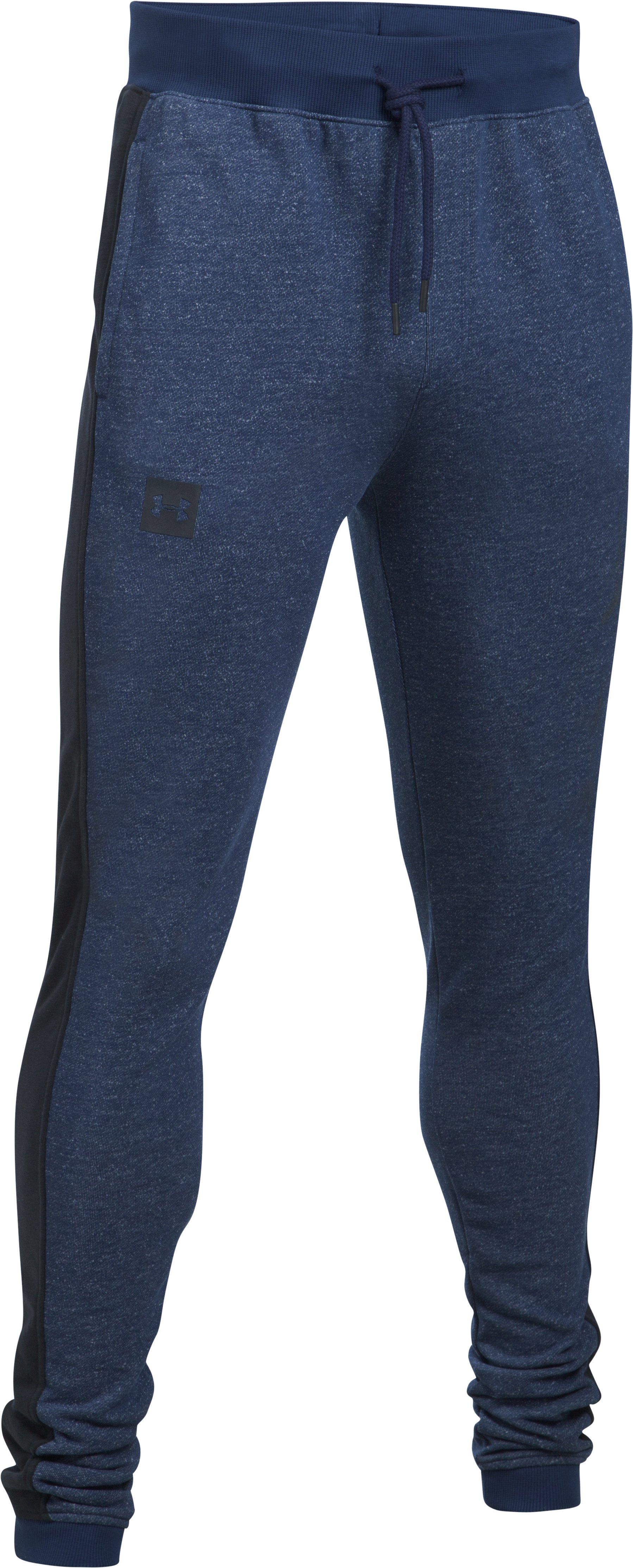 Men's UA Sportstyle Stacked Terry Joggers, Academy
