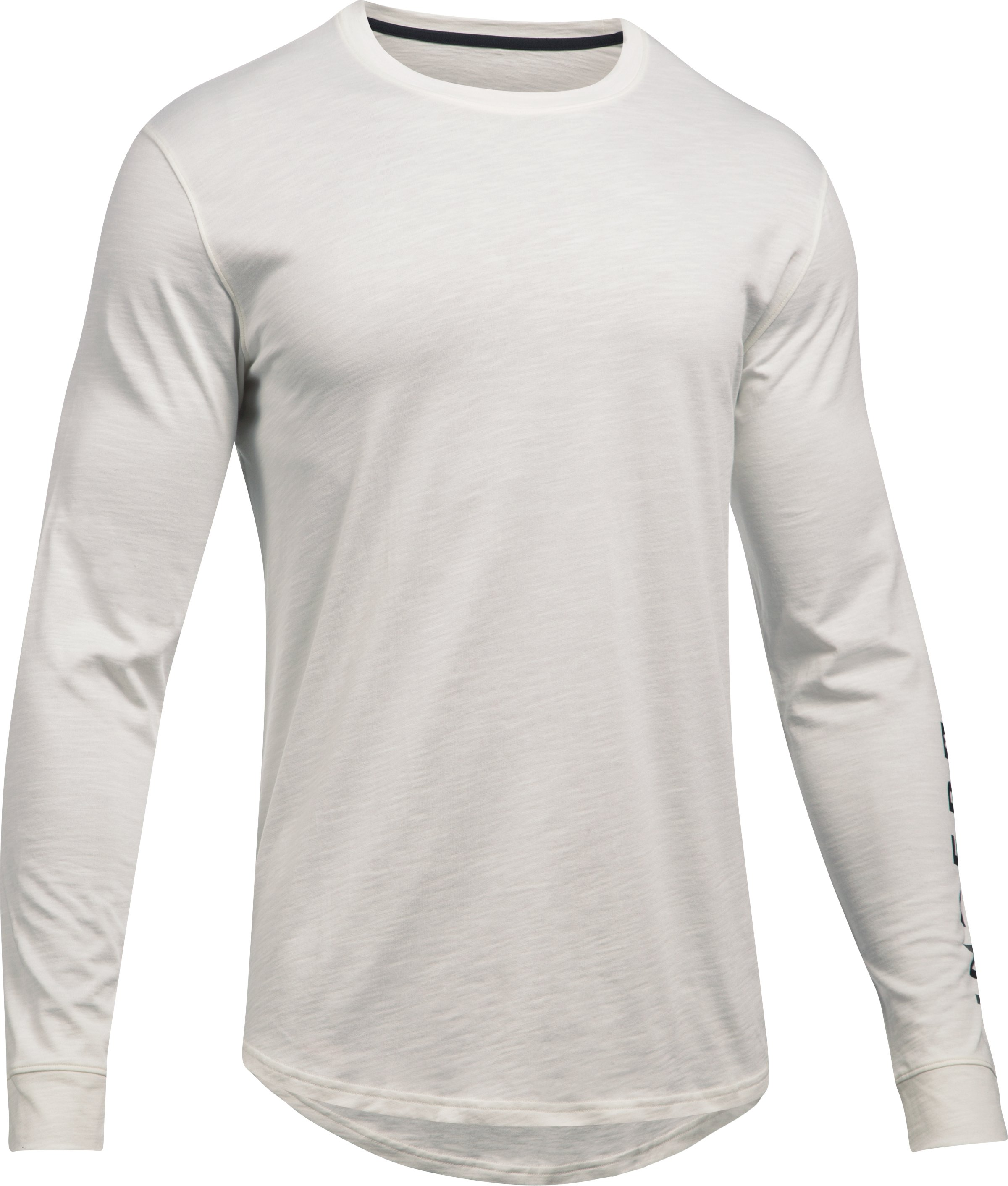 Men's UA Sportstyle Long Sleeve T-Shirt, Ivory,