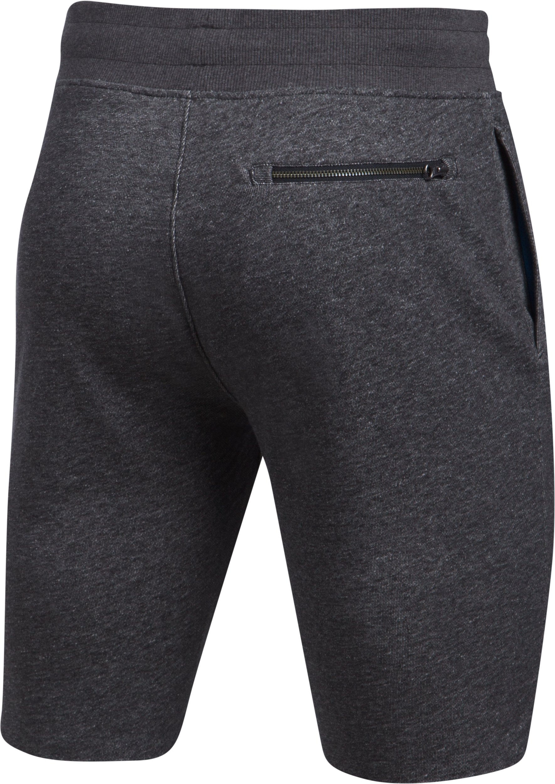 Men's UA Sportstyle  Terry Tapered Shorts, Asphalt Heather,