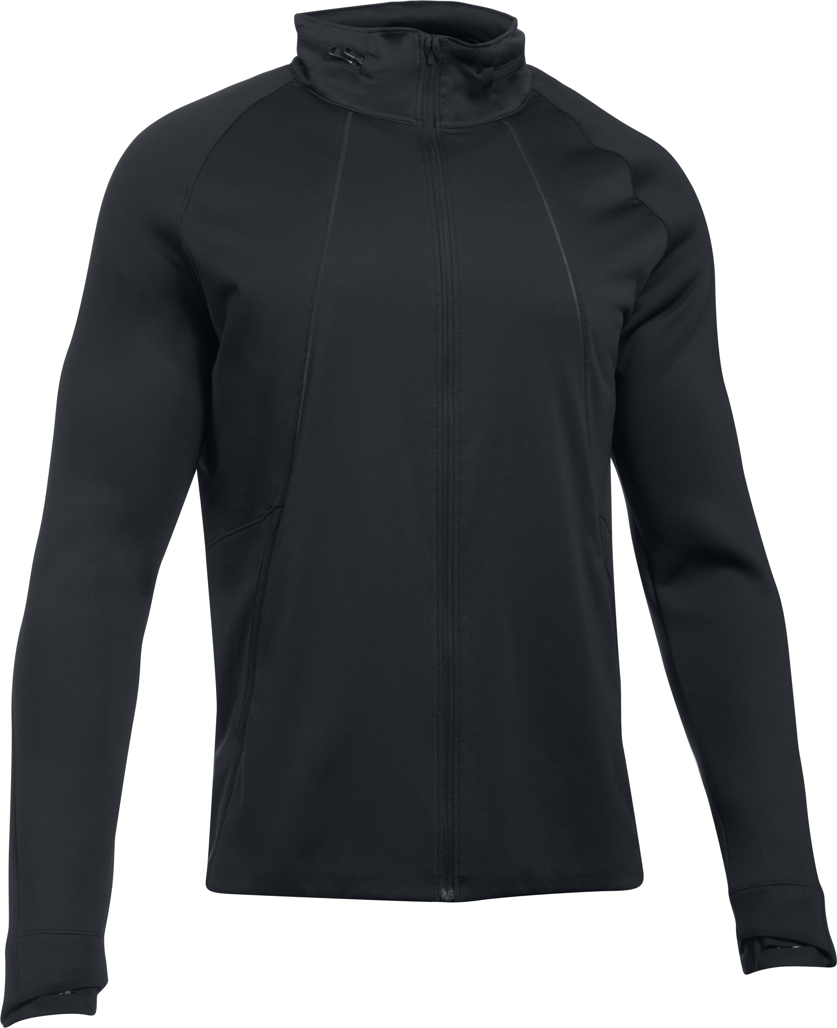 Men's UA Storm ColdGear® Reactor Run Jacket, Black ,