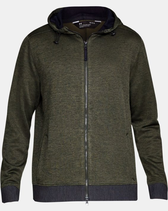 Sportstyle Sweater Flc FZ, Green, pdpMainDesktop image number 5