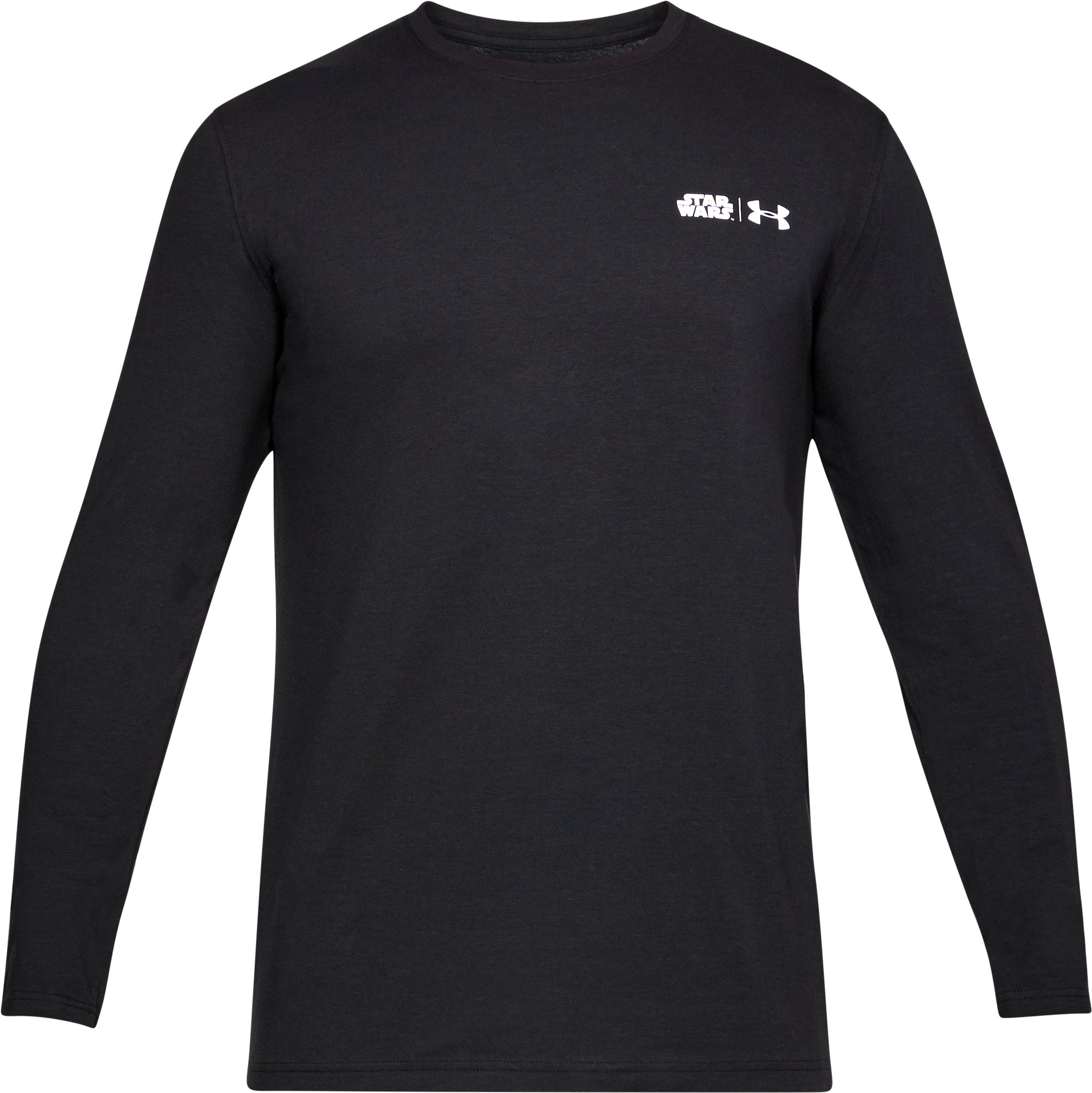 Men's UA Star Wars Death Star Long Sleeve T-Shirt, Black , undefined