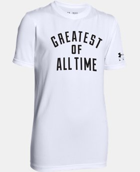 Boys' UA x Ali UA Tech™ T-Shirt  LIMITED TIME: FREE U.S. SHIPPING  $18.99