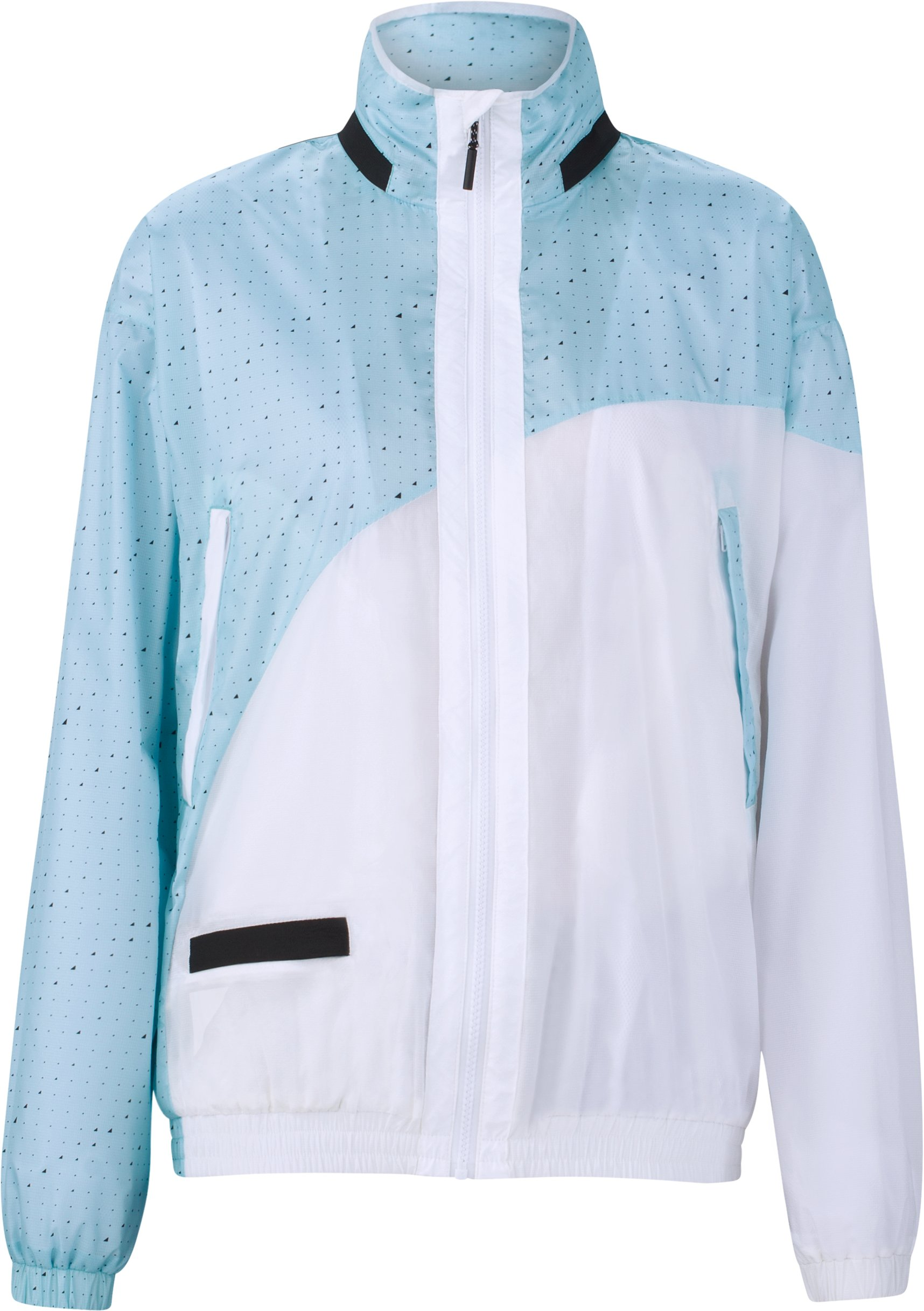 UAS Relay Pattern Track Jacket, BABY BLUE, undefined