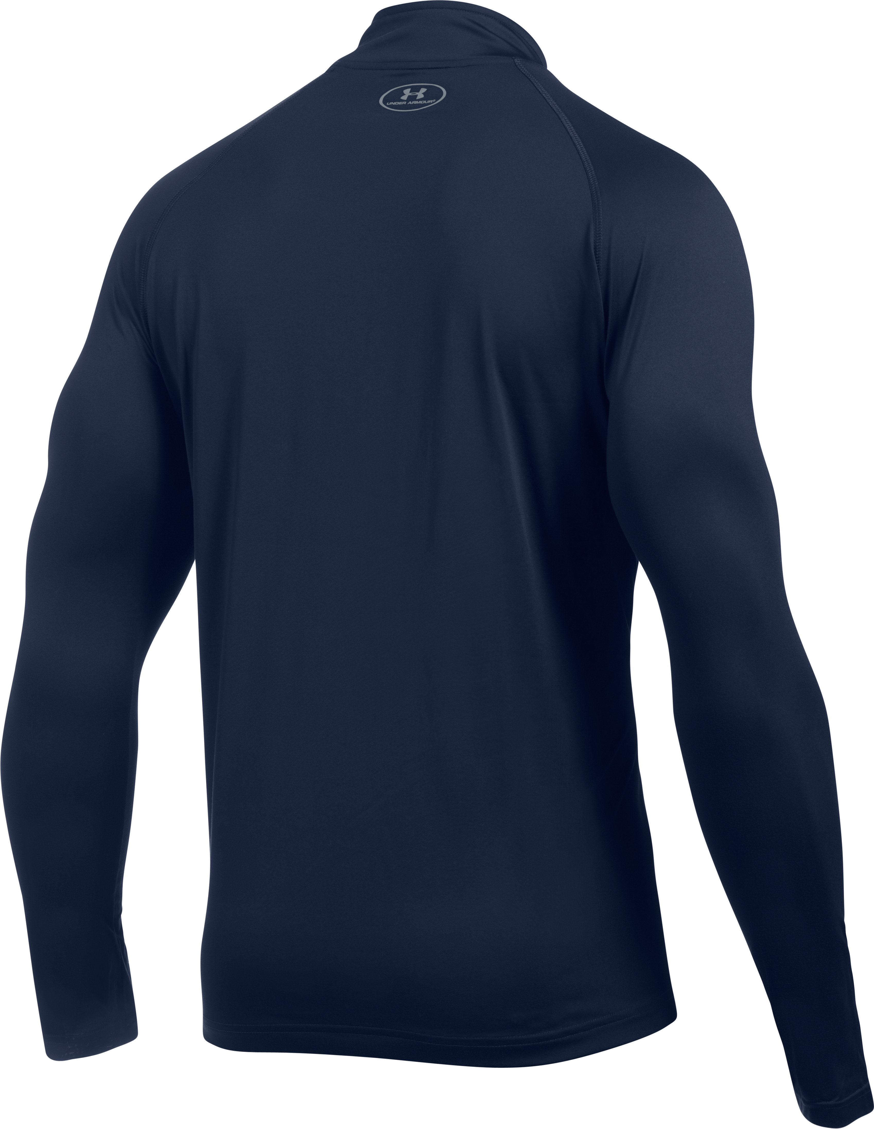 Men's CAL UA Tech™ ¼ Zip, Midnight Navy