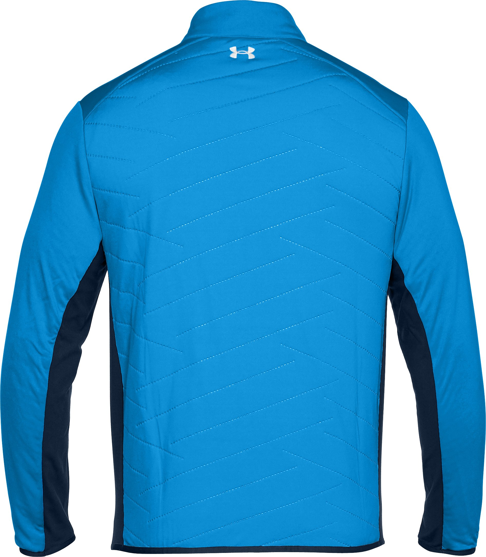 Men's ColdGear® Reactor Hybrid ½ Zip, MAKO BLUE,