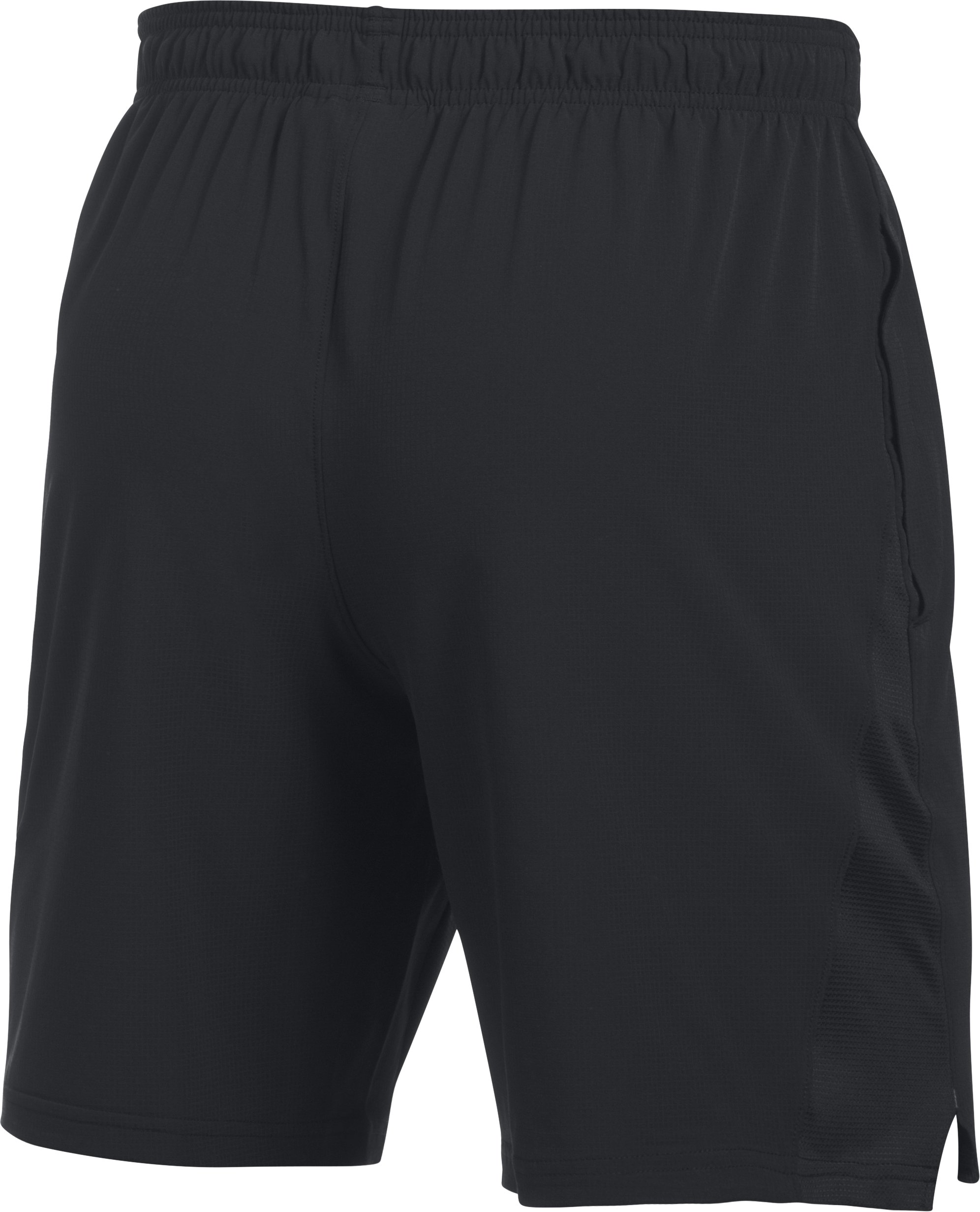 Men's UA Cage Shorts, Black ,
