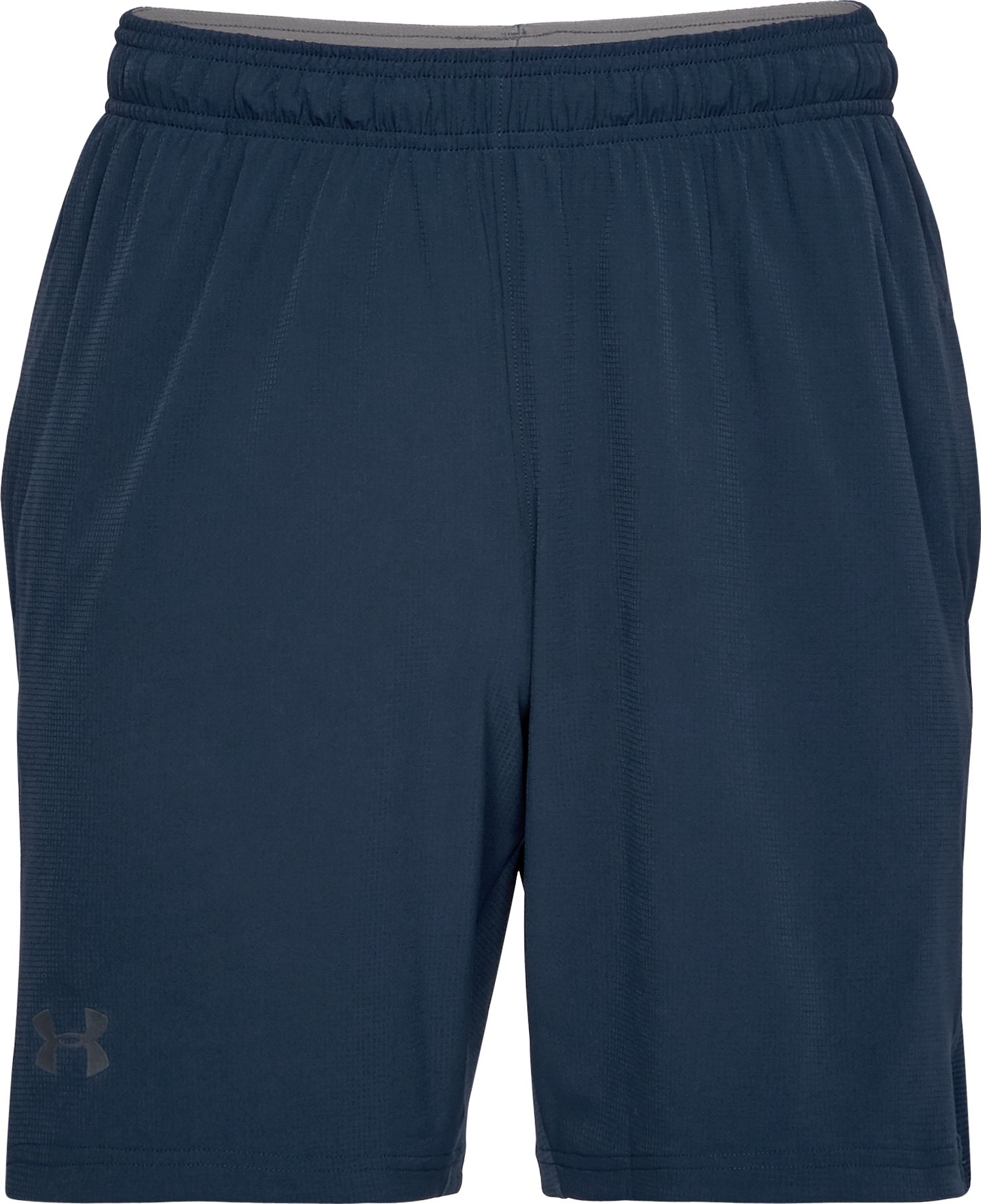 Men's UA Cage Shorts, Academy,