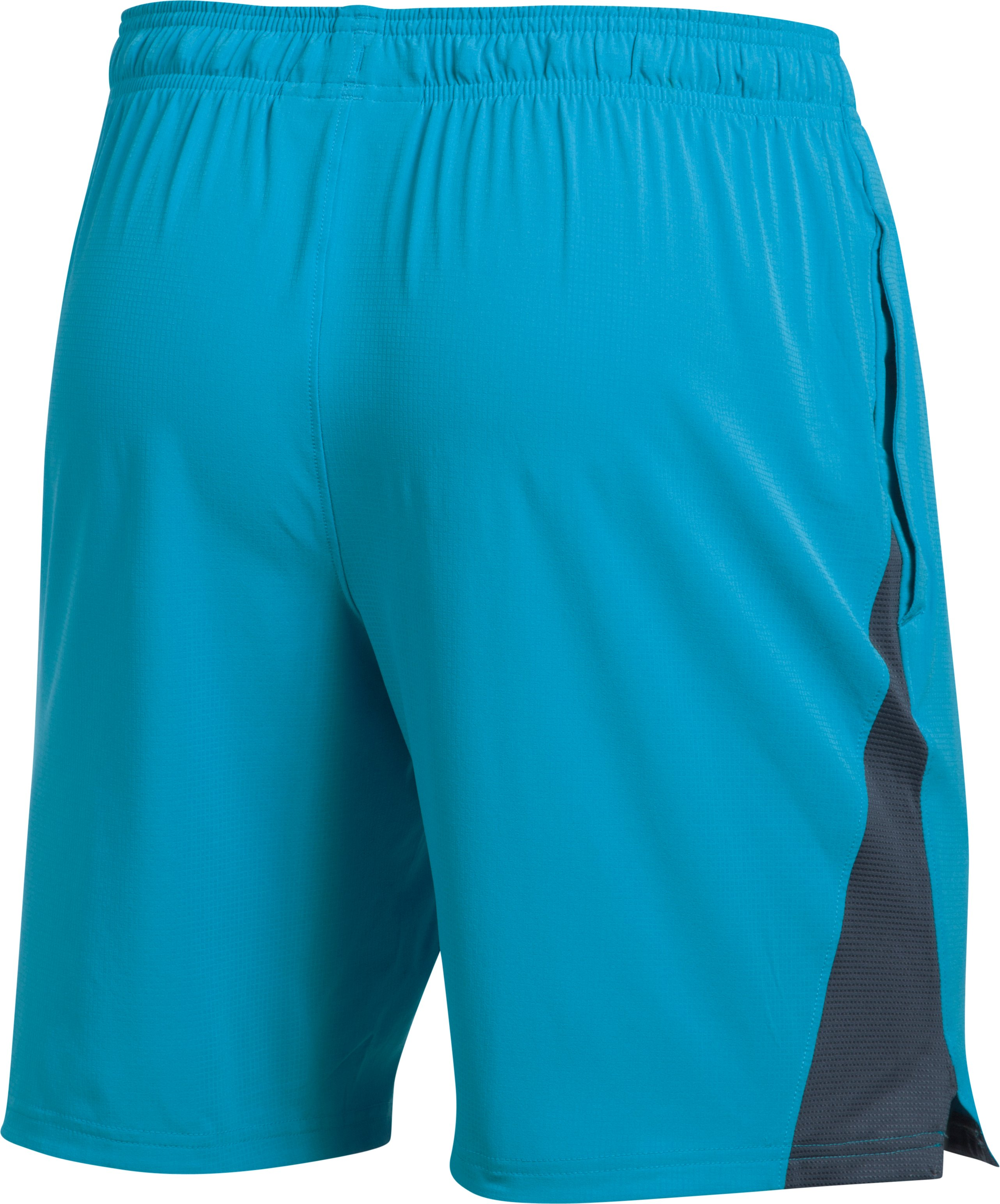 Men's UA Cage Shorts, BLUE SHIFT,
