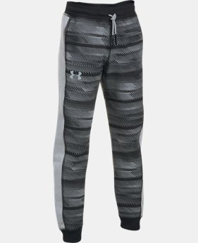 Boys' UA Threadborne™ Printed Jogger  3  Colors Available $29.99 to $37.99