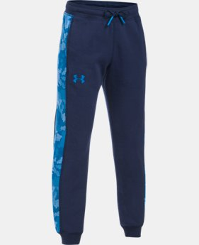 Boys' UA Threadborne™ Printed Jogger LIMITED TIME OFFER 2 Colors $34.99