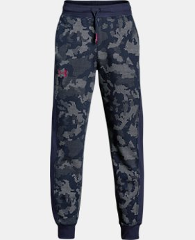 Boys' UA Threadborne™ Printed Jogger  3 Colors $37.49