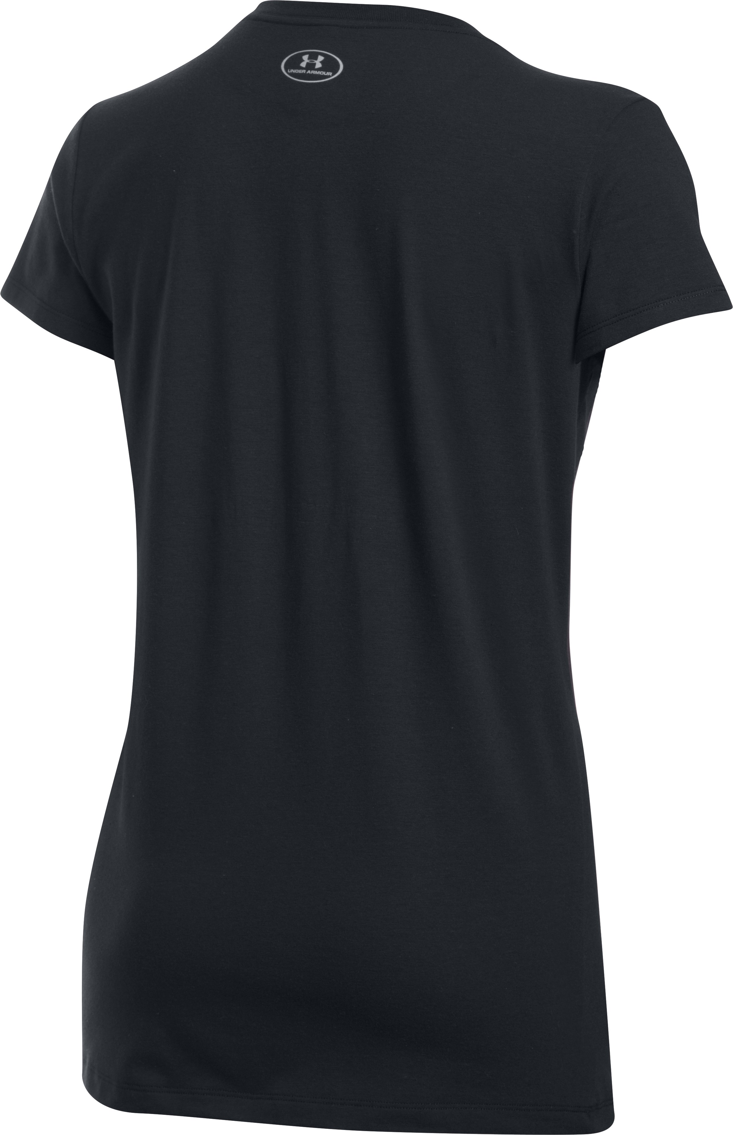 Women's UA Goals For Gold Short Sleeve T-Shirt, Black , undefined