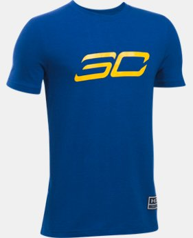 New Arrival Boys' SC30 Back2Back MVP T-Shirt  1 Color $18.99