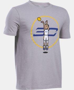 Boys' SC30 Jump Shot T-Shirt LIMITED TIME: FREE SHIPPING 2 Colors $24.99
