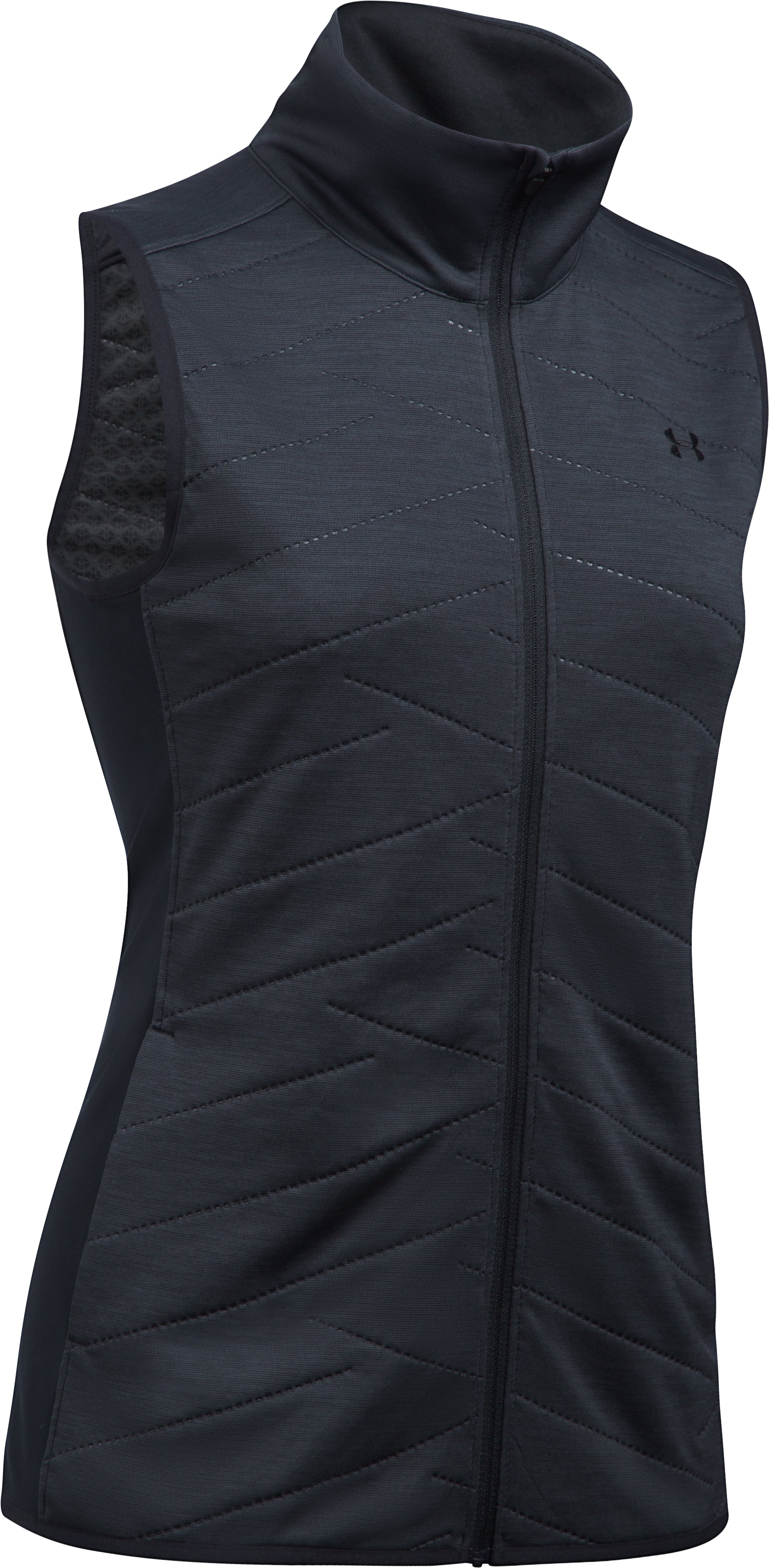 Women's ColdGear® Reactor Vest, Black , undefined