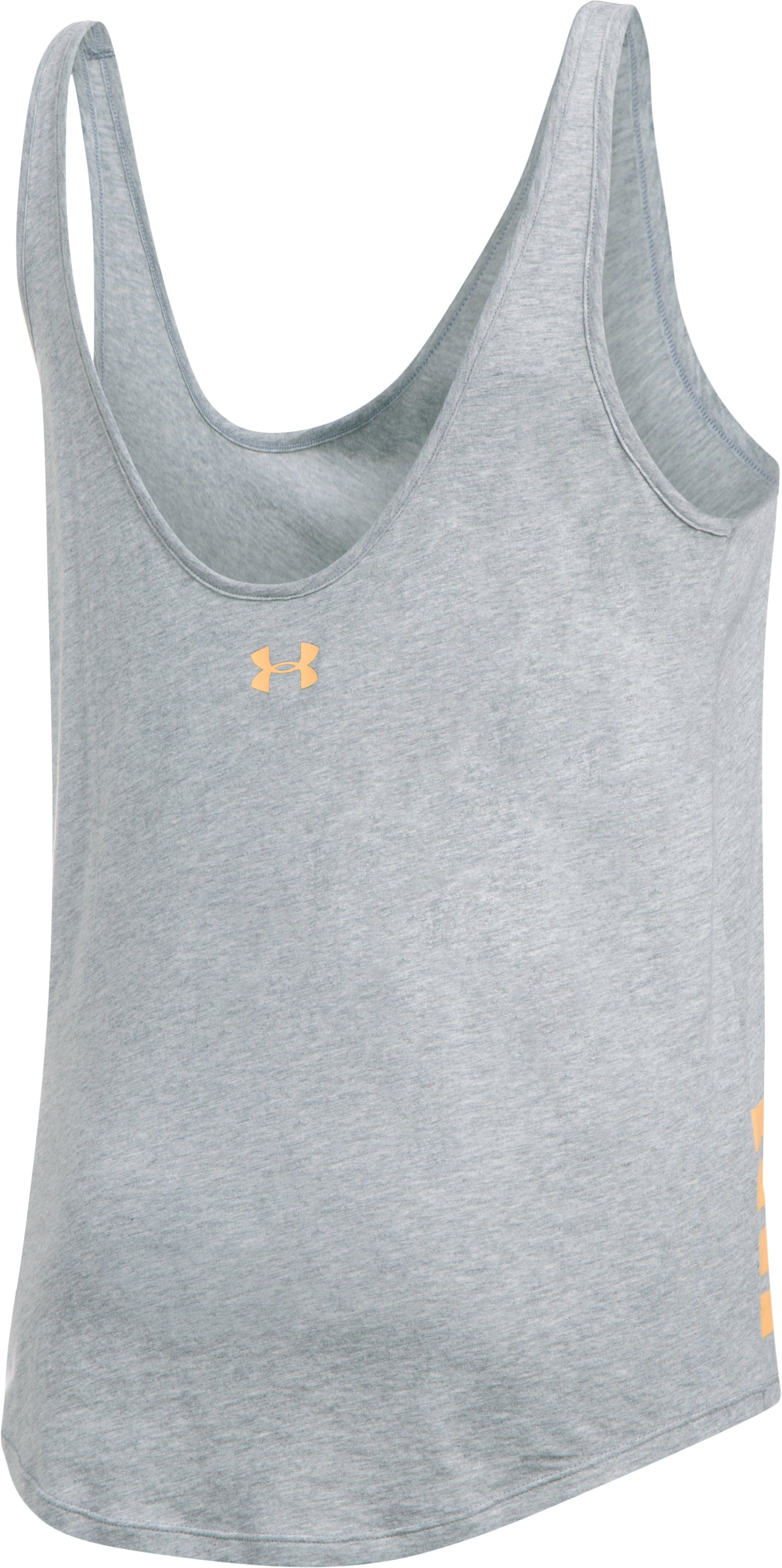 Women's UA Tone What You Own Tank, True Gray Heather,