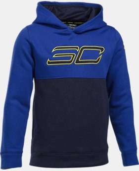 Boys' SC30 Fleece Logo Hoodie  1 Color $64.99