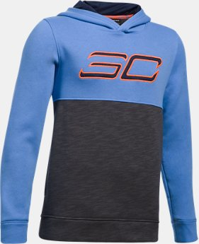 PRO PICK Boys' SC30 Fleece Logo Hoodie  1 Color $41.99
