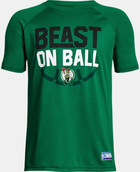 Boys' NBA Combine Authentic Beast OTB UA Tech™ T-Shirt LIMITED TIME: 25% OFF 2 Colors $20.99