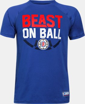 Boys' NBA Combine Authentic Beast OTB UA Tech™ T-Shirt  7 Colors $28