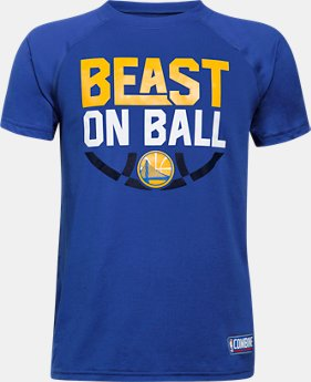 Boys' NBA Combine Authentic Beast OTB UA Tech™ T-Shirt LIMITED TIME: 25% OFF 30 Colors $20.99