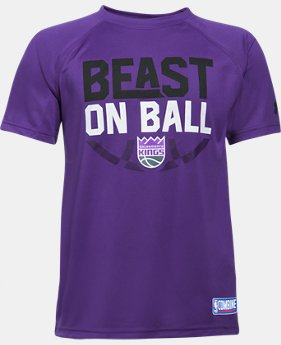 New Arrival Boys' NBA Combine Authentic Beast OTB UA Tech™ T-Shirt  1 Color $28