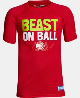 Boys' NBA Combine Authentic Beast OTB UA Tech™ T-Shirt  4  Colors Available $28