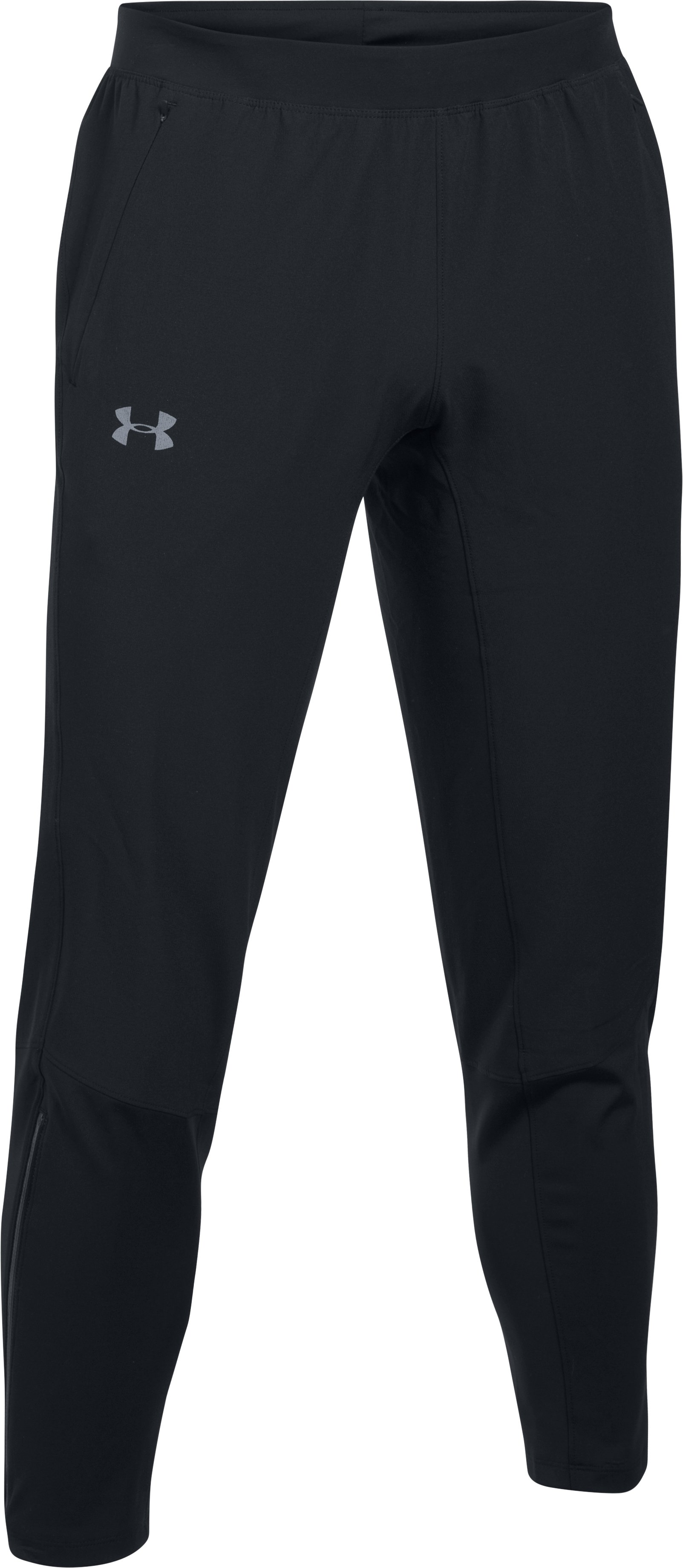 Men's UA Outrun The Storm Pants, Black , undefined