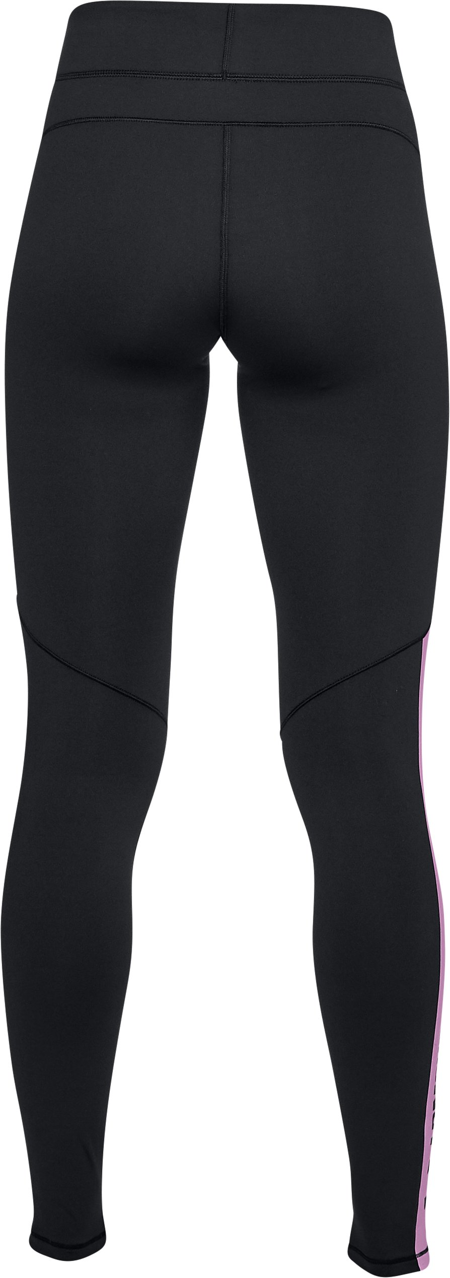 Women's ColdGear® Armour Graphic Leggings, Black ,