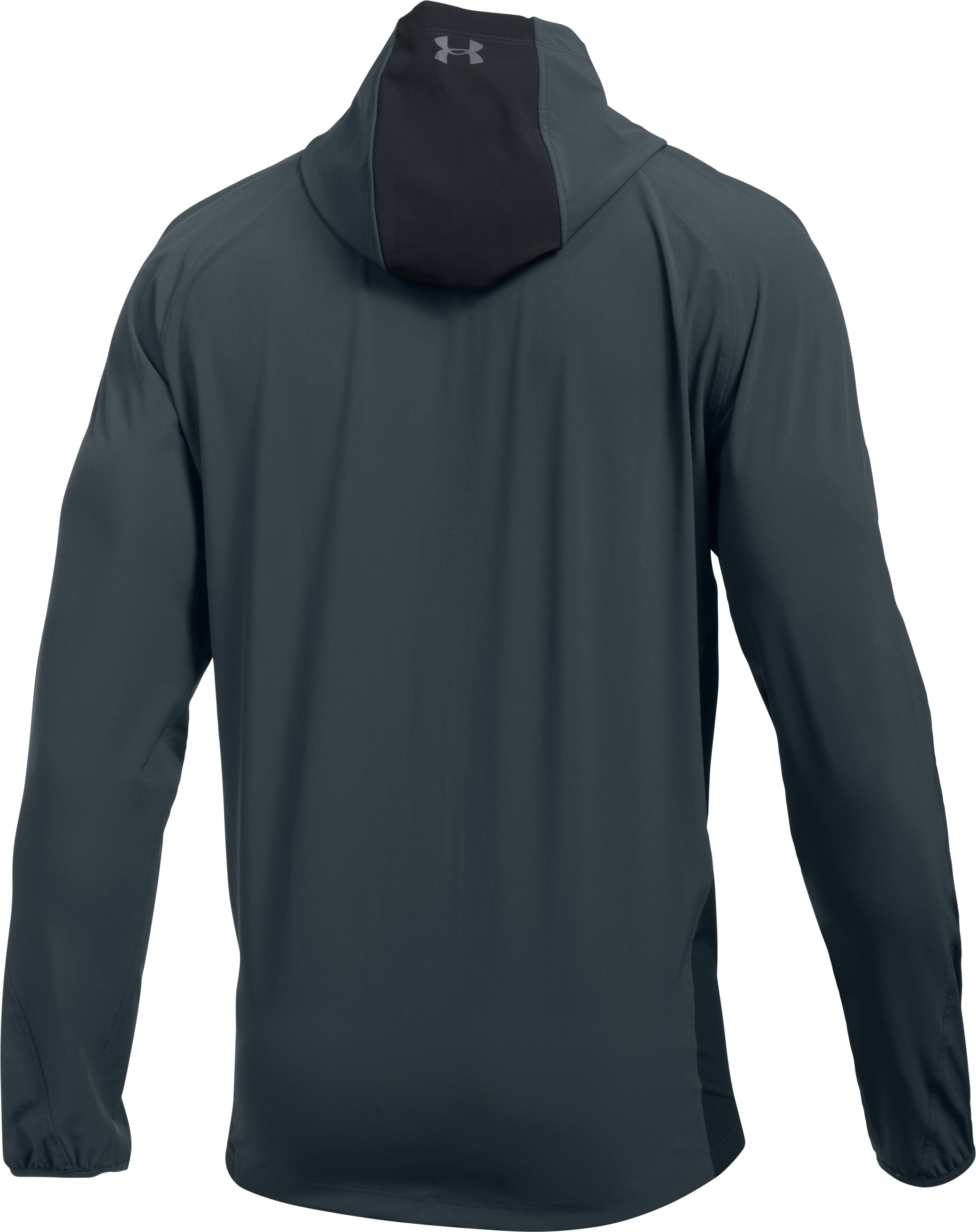 Men's UA Outrun The Storm Jacket, STEALTH GRAY,