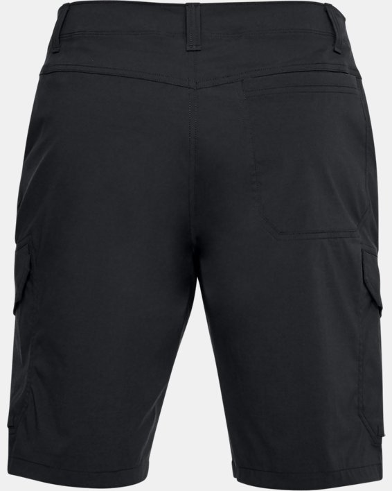Men's UA Fish Hunter Cargo Shorts, Black, pdpMainDesktop image number 4