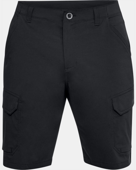 Men's UA Fish Hunter Cargo Shorts, Black, pdpMainDesktop image number 3