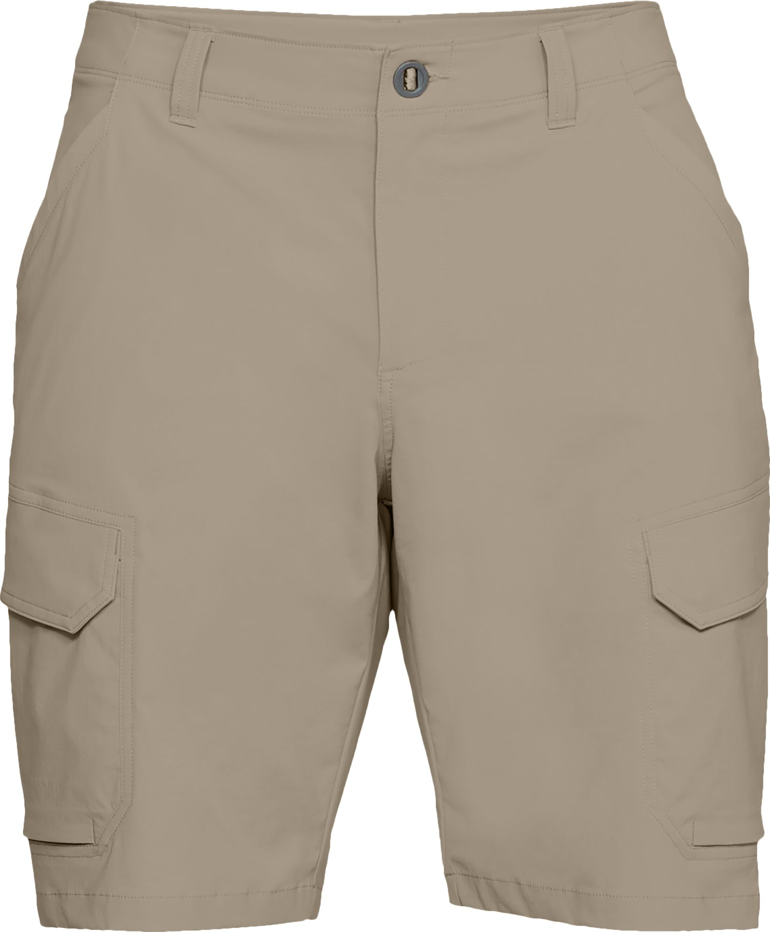 Men's UA Fish Hunter Cargo Shorts, CITY KHAKI,