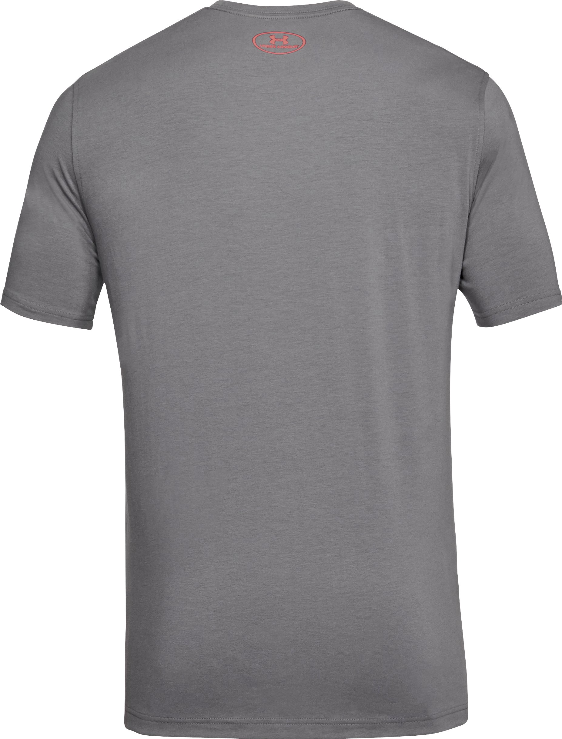 Men's UA Fish Hook Sportstyle T-Shirt, Graphite, undefined