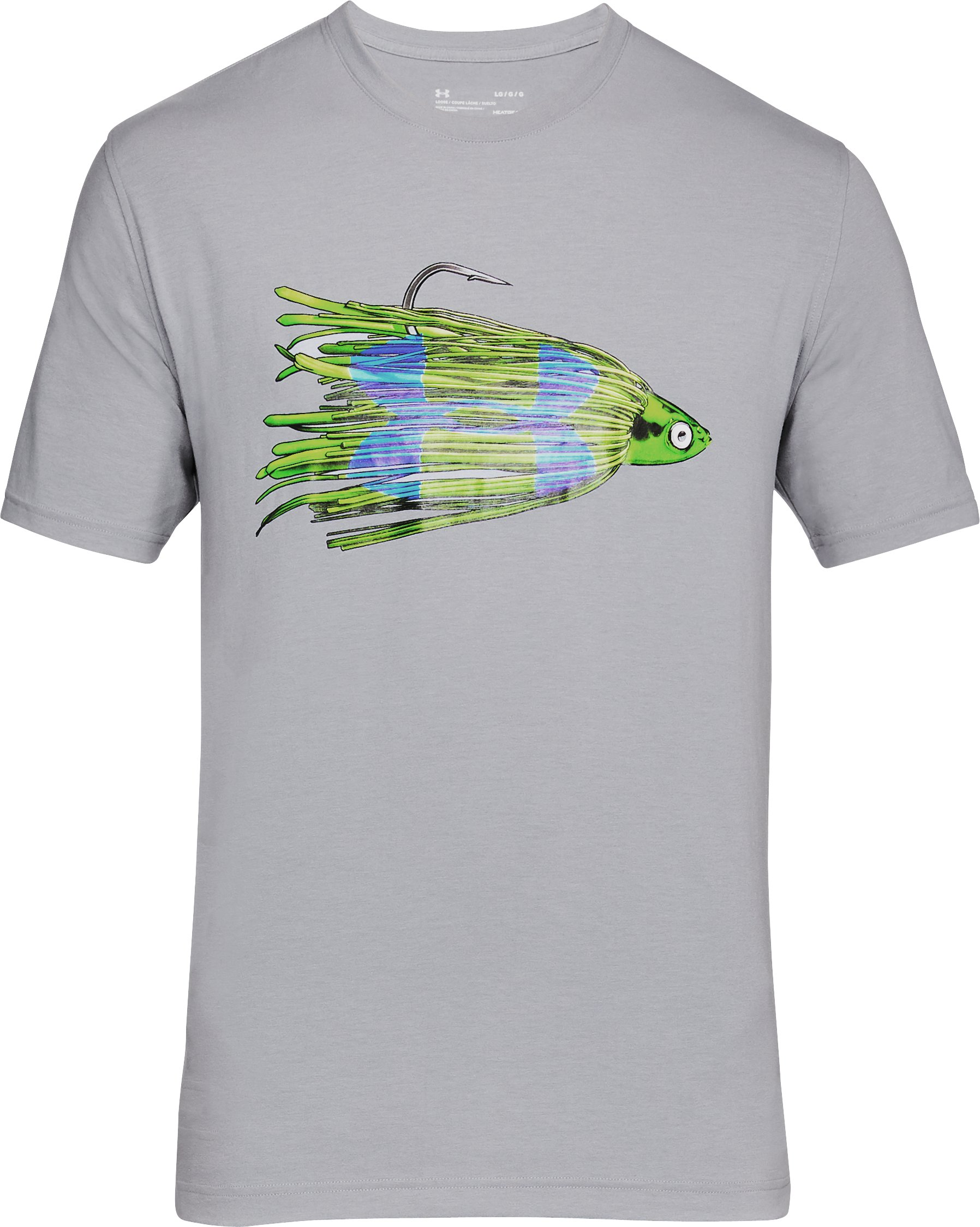 Men's UA Jig Logo T-Shirt, Steel,