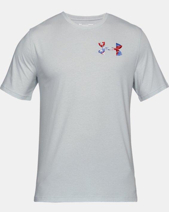 Men's UA AF Whitetail Skull T-Shirt, Gray, pdpMainDesktop image number 3