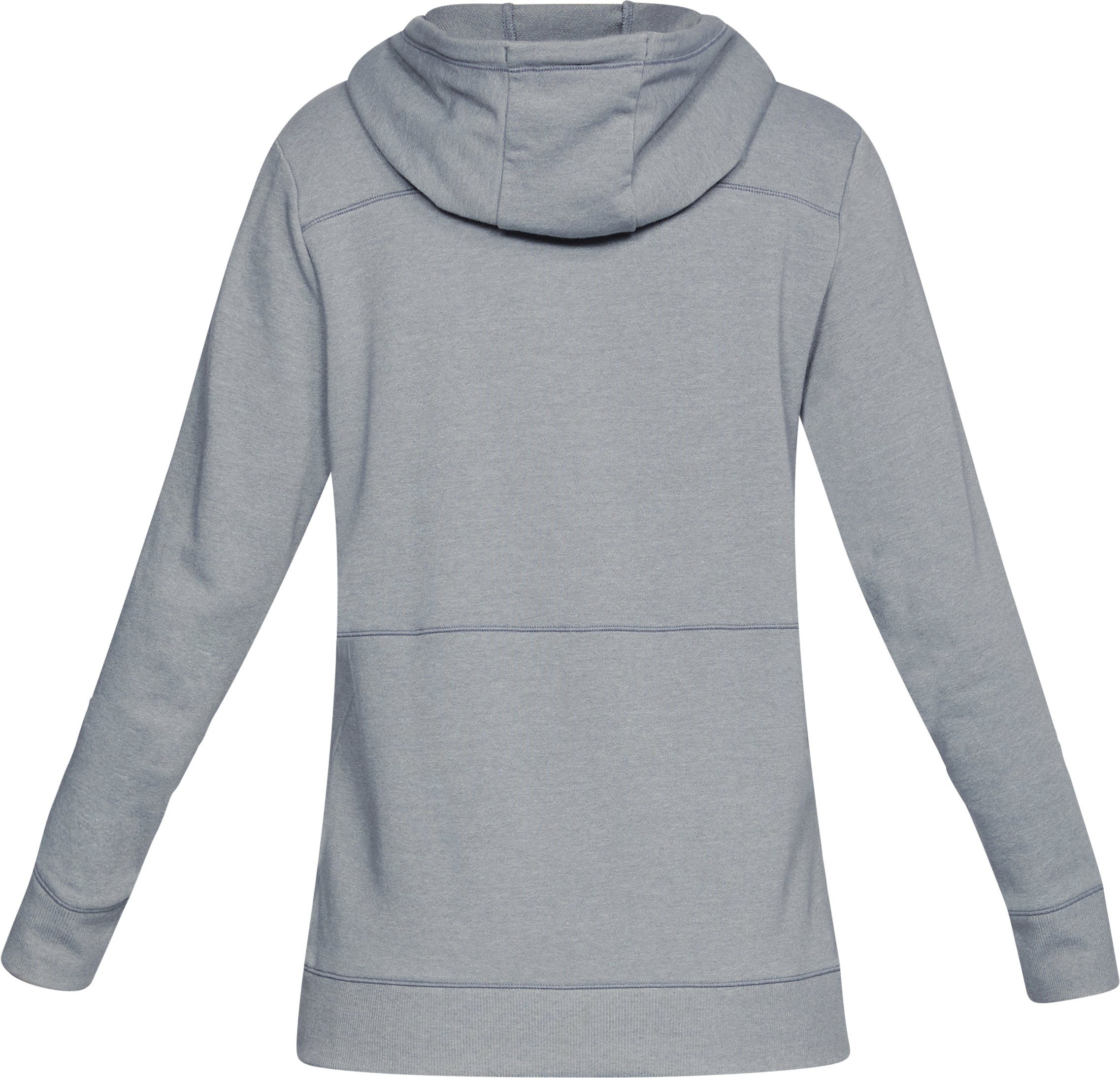Women's UA Microthread Shoreline Terry Hoodie, STEEL MEDIUM HEATHER,