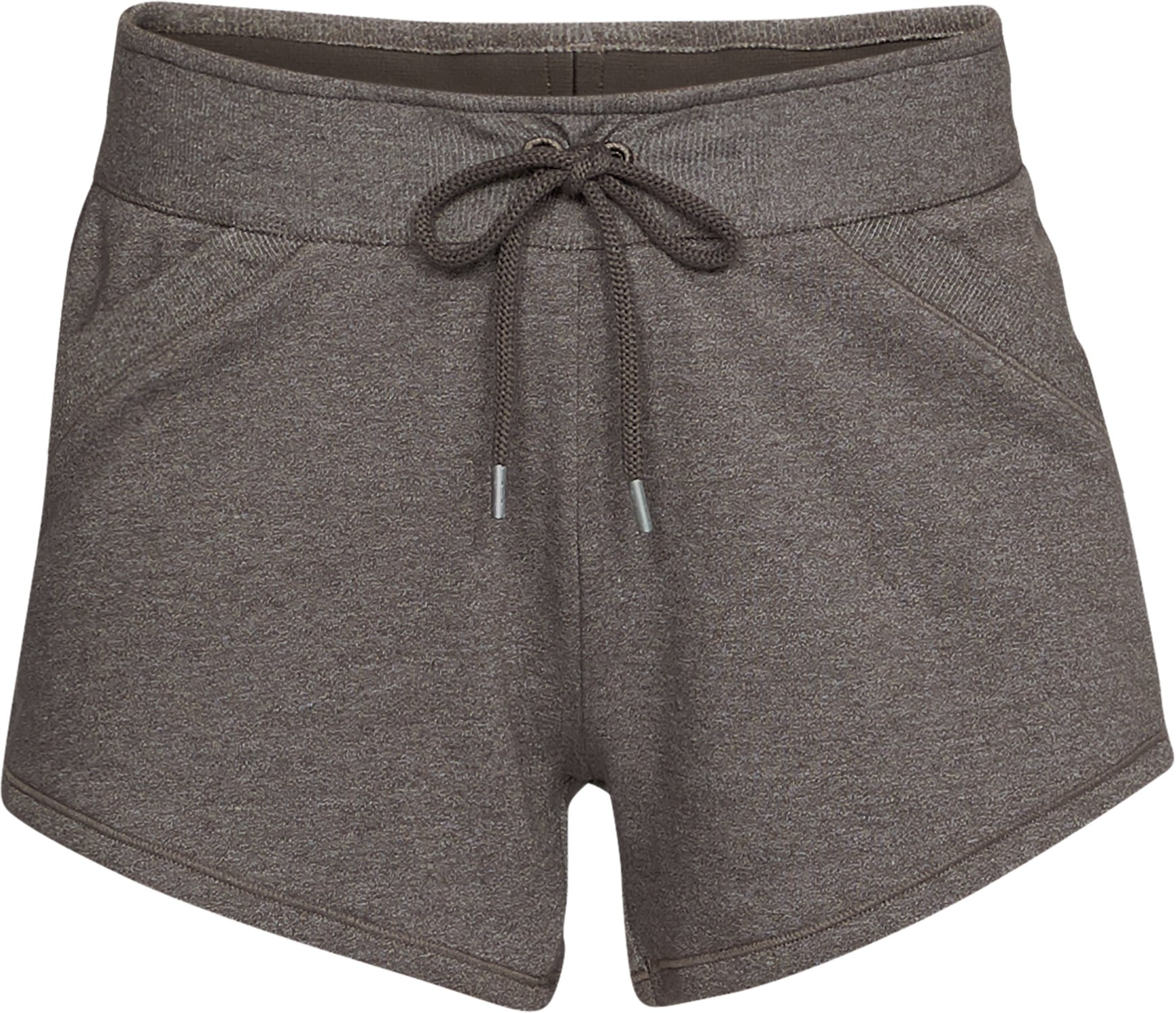 Women's UA Microthread  Shoreline Terry Shorts, FRESH CLAY MEDIUM HEATHER,