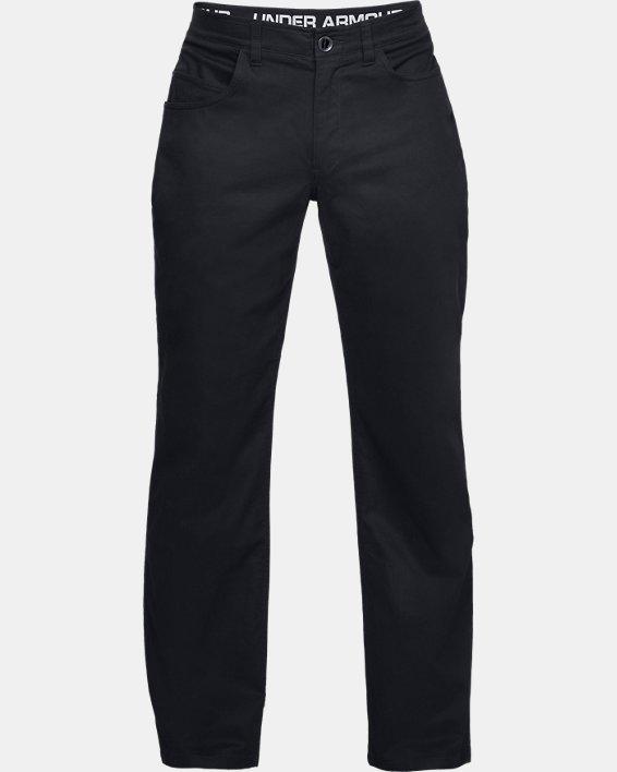 Men's UA Payload Pants, Black, pdpMainDesktop image number 3