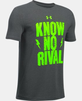 Boys' UA Know No Rival T-Shirt LIMITED TIME: UP TO 30% OFF 1 Color $13.99