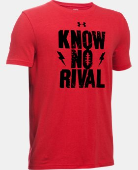 New Arrival Boys' UA Know No Rival T-Shirt   $19.99