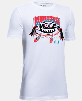 Boys' UA Monster Mode T-Shirt  1 Color $14.99