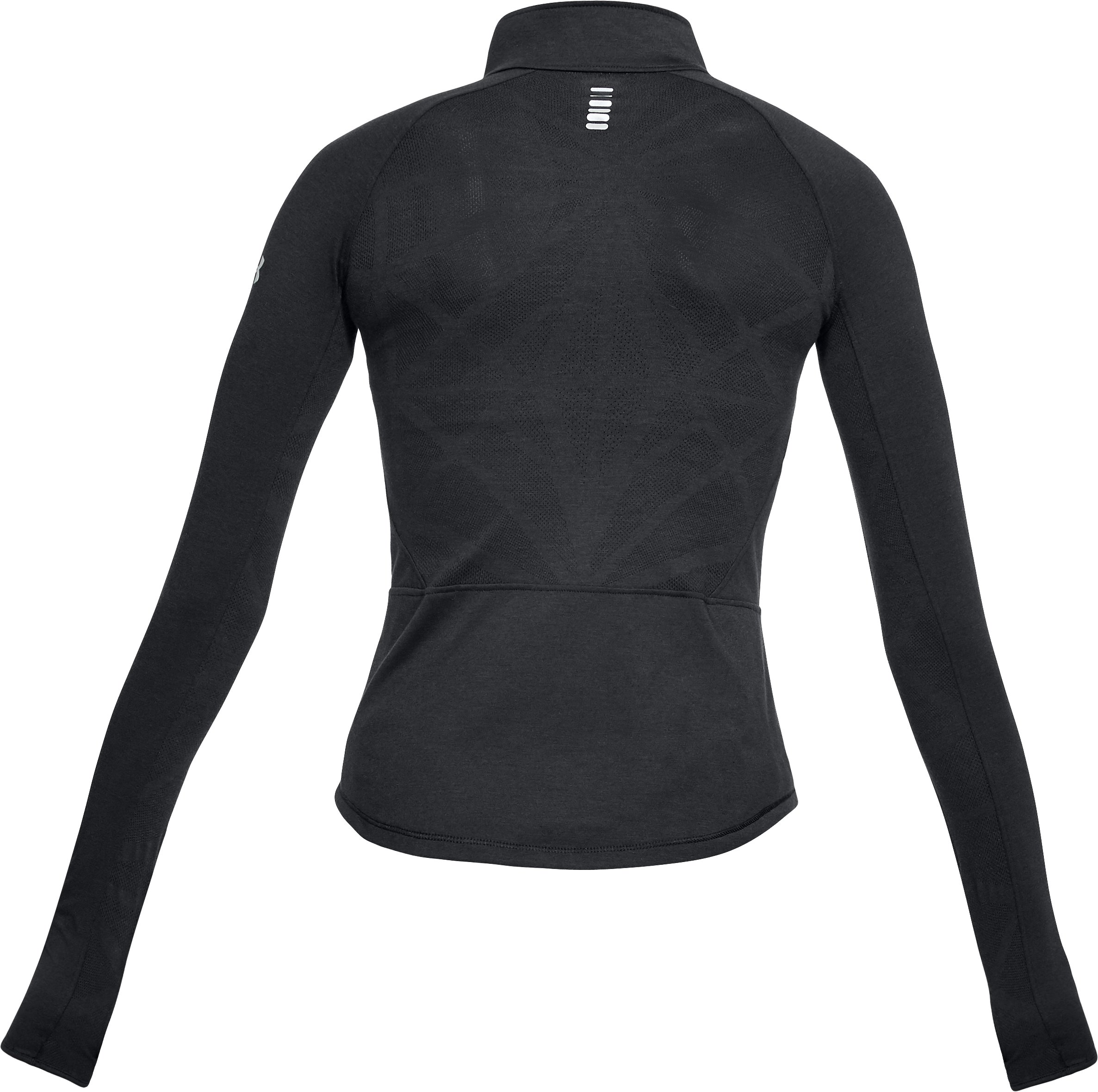 Women's UA Microthread Swyft ½ Zip, Black ,