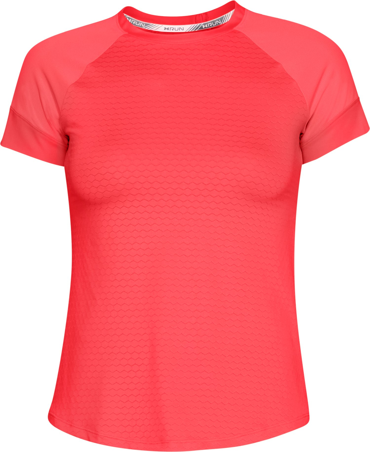 Women's UA HexDelta Short Sleeve, BRILLIANCE,