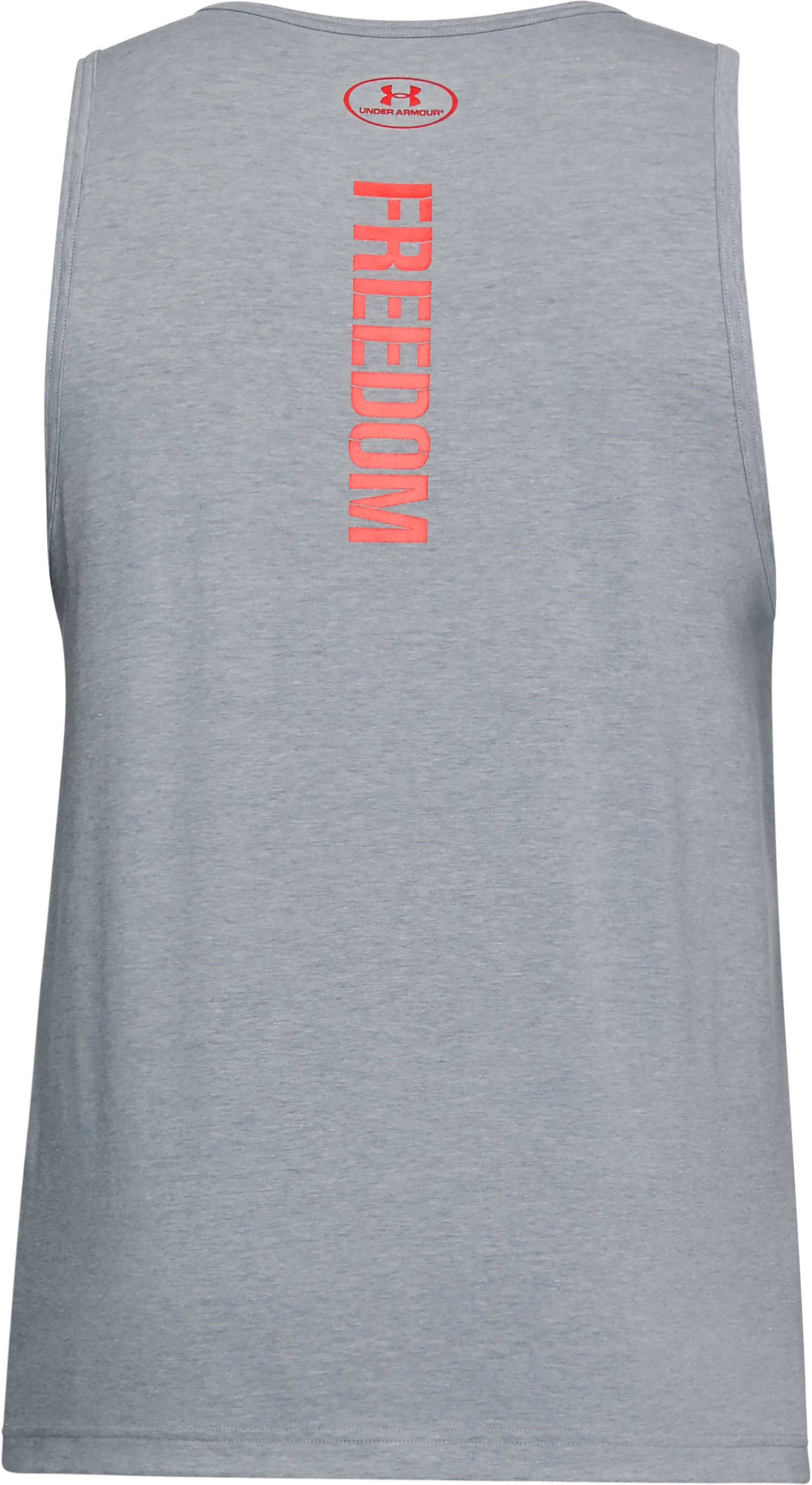 Men's UA Freedom Eagle Tank, STEEL LIGHT HEATHER,